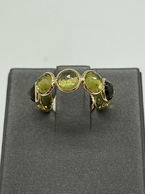 Tresor 18k Olive Quartz Ring