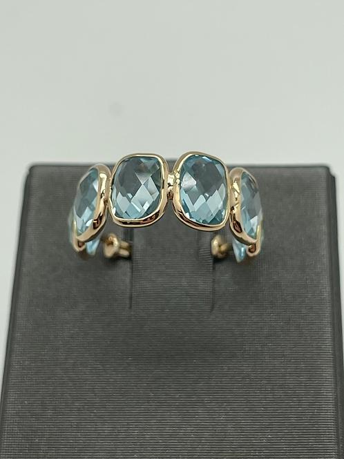 Tresor 18k Blue Topaz Ring