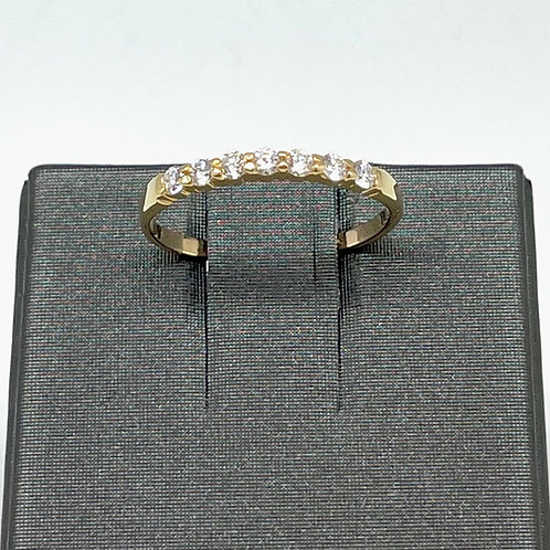 .21ctw 14k Seven Diamond Band