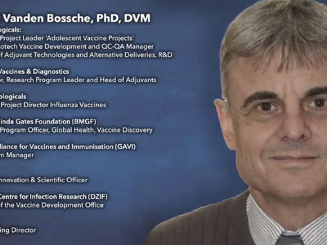A Coming COVID Catastrophe - WARNING from Pro-Vaccine Developer Dr. Geert Vanden Bossche, PhD, DVM