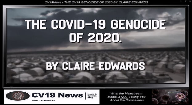CV19News - THE CV19 GENOCIDE OF 2020 BY
