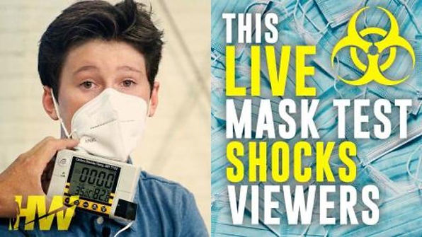 This Live Mask Test Shocks Viewers - Del