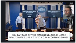 """WHITE HOUSE PRESS CORPS CAUGHT ON HOT MIC """"TAKE OFF THE MASKS...IT'S A HOAX!"""""""