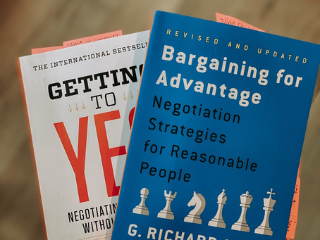 Bargaining for Advantage & Getting to Yes: Book Review