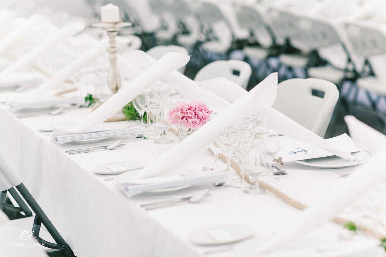 Tältbröllop Villavanahem