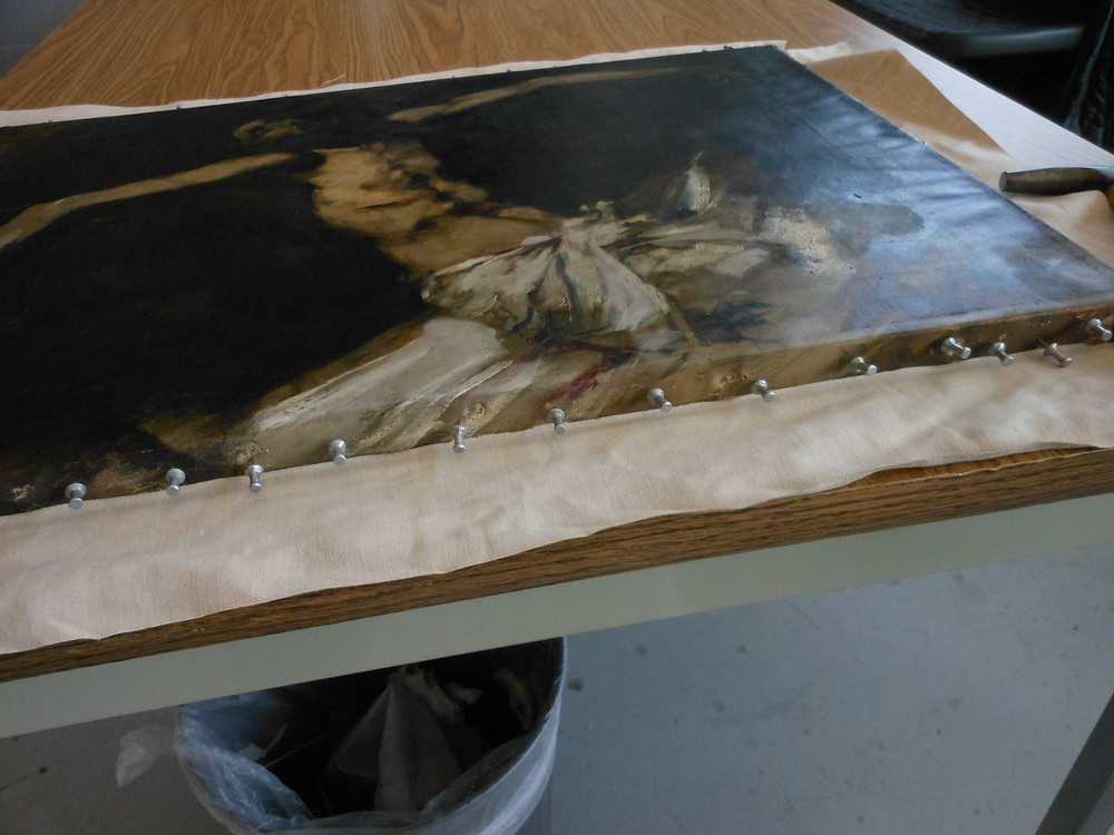 Continuing Art Conservation through a Pandemic by a conservator at Cincinnati Art Museum