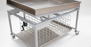 Product Focus: Laboratory sink with drying rack