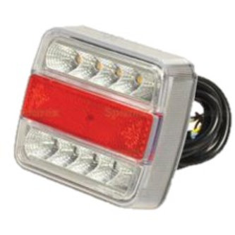Fanale Posteriore a LED, 12V, (DX / SX)