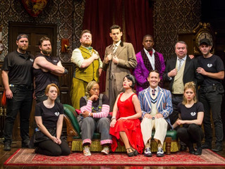 Production Photos! First Look at the National Tour of The Play That Goes Wrong!