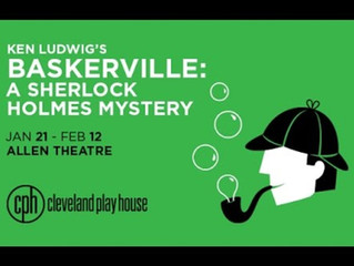 """Ken Ludwig's """"Baskerville: A Sherlock Holmes Mystery"""" at Cleveland Play House!"""
