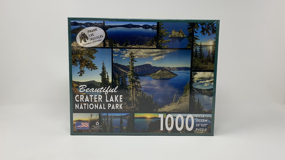 Beautiful Crater Lake National Park- 1000 Piece Puzzle