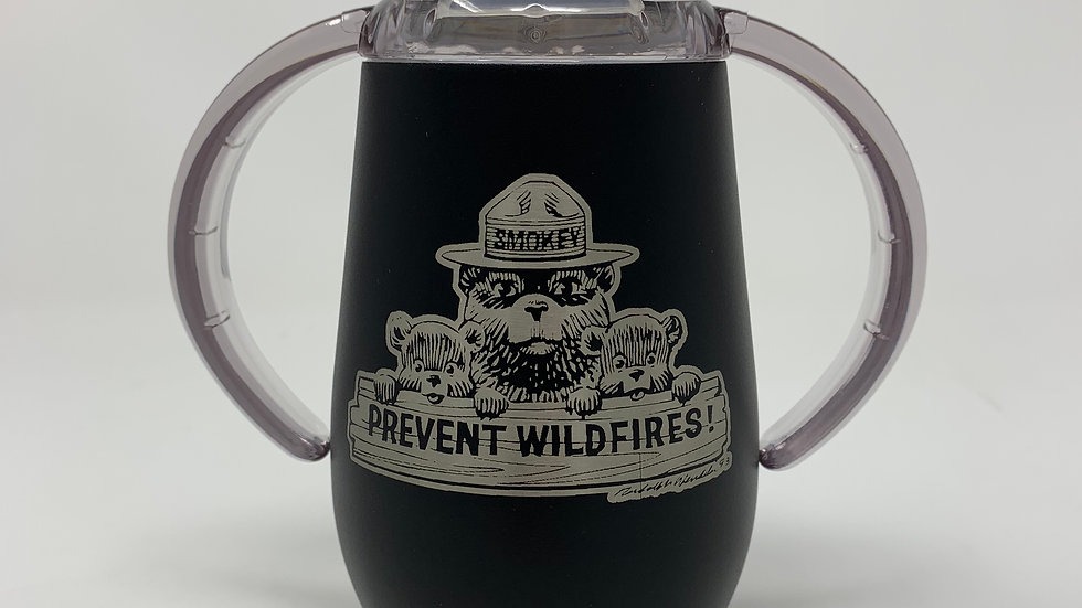 12 oz Licensed Smokey Bear Sippy Cup
