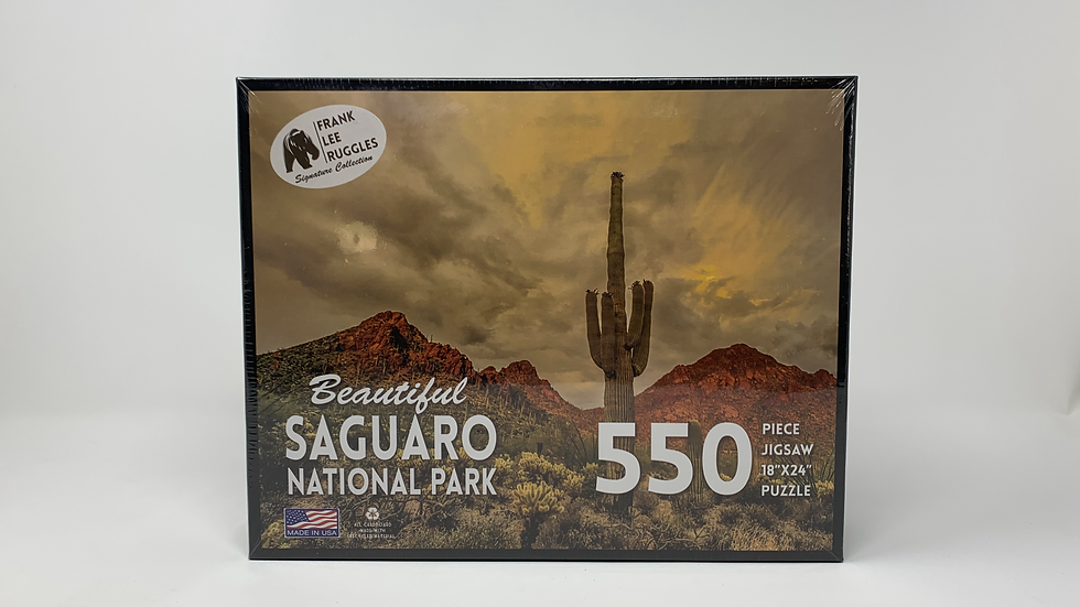 Beautiful Saguaro National Park- 550 Piece Puzzle