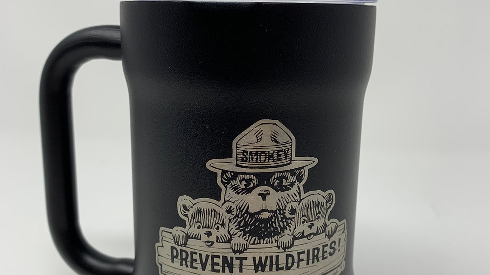 18 oz Licensed Smokey Bear Camp Cup