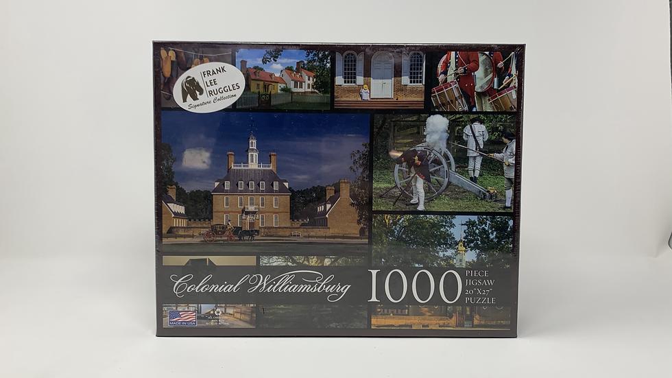 Colonial Williamsburg- 1000 Piece Puzzle