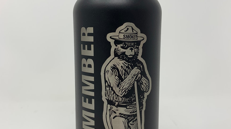 32 oz Licensed Smokey Bear Hiker Water Bottle
