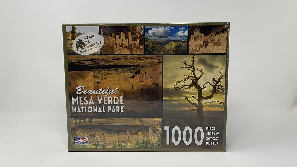 Beautiful Mesa Verde- 1000 Piece Puzzle