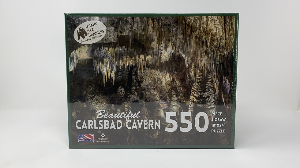 Beautiful Carlsbad Cavern- 550 piece Puzzle