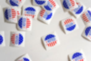 UnSplash Image of Voting Stickers