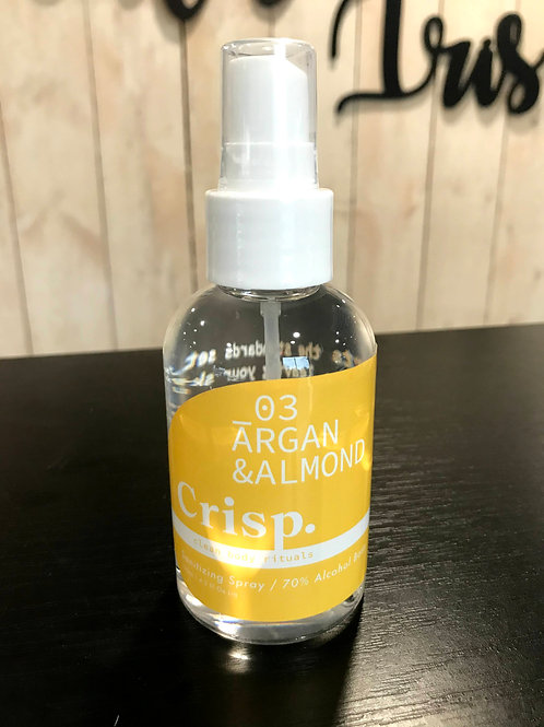 Argan & Almond Sanitizing Spray