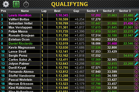 Live Timing
