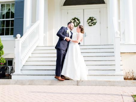 Victoria and Ryan // Historic Oakland - Maryland Wedding Photographer