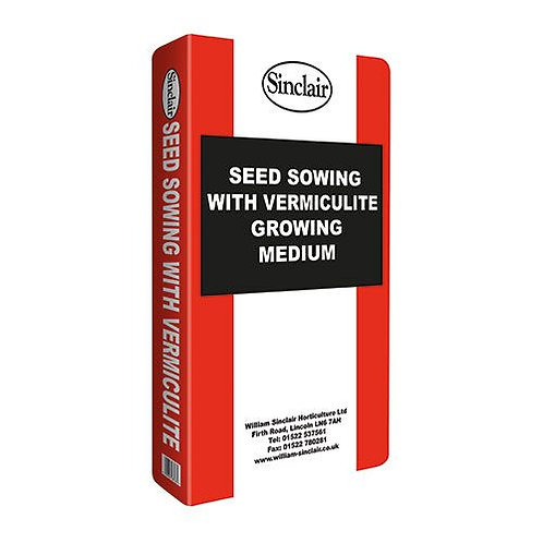 Sinclair Seed Sowing with Vermiculite Compost