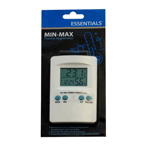 Essentials Thermo/Hygrometer