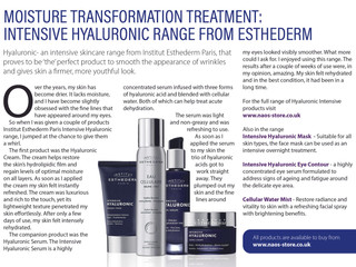 Great skincare from Estherderm