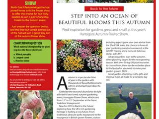 WIN TICKETS to the Autumn Harrogate Flower Show