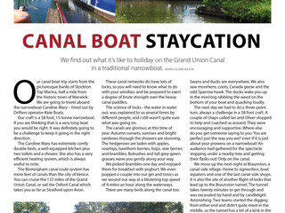 Canal Boat Staycation