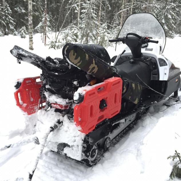 Снегоход Русская механика Тайга Варяг 550V