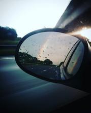I caught a double rainbow on the way hom
