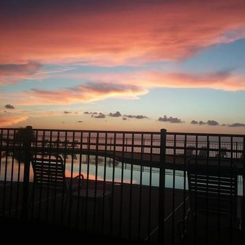 Sunset over Mobile Bay #nofilter.jpg
