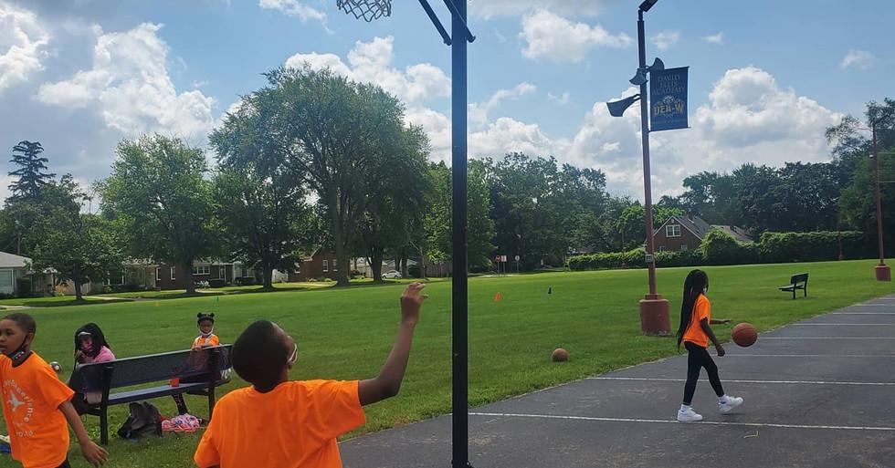 Basketball break