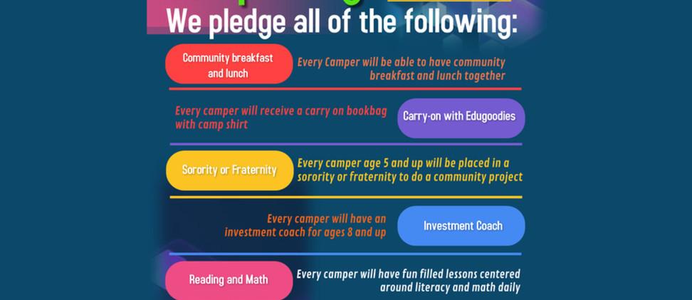 EduVillage Camp Pledge