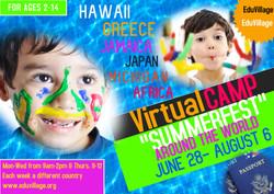 Virtual Camp Around the World