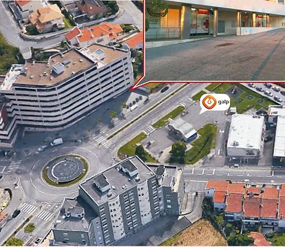 Centro Veterinário de Gondomar - localização da clínica - junto à Galp