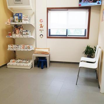 Clínica dos Gatos - Sala de espera
