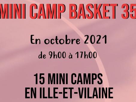 Les inscriptions aux Mini Camps sont lancées... 👍