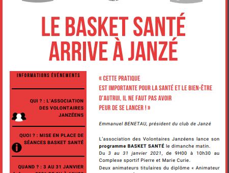 Le Basket Santé arrive à Janzé