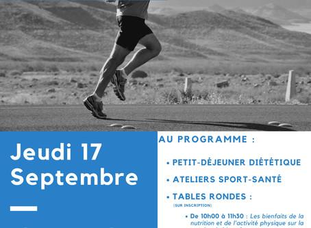 Village Sport Santé à la Maison des Sports de Rennes - Jeudi 17 septembre 2020.