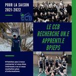 Le CCB recherche un apprenti BPJEPS pour la prochaine saison