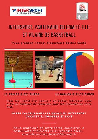Intersport, partenaire du Comité ille et