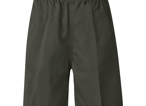 Boys Regular School Shorts - Grey