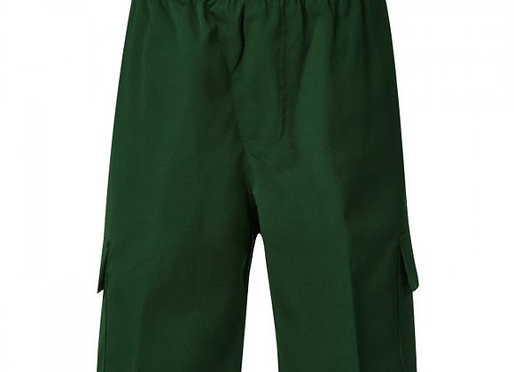 Boys Cargo Shorts - Bottle