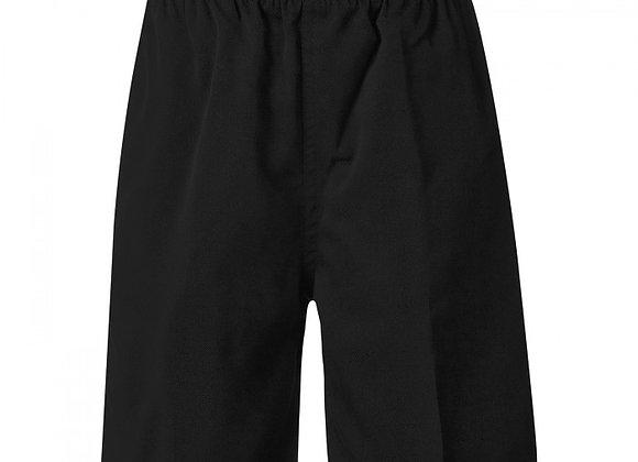 Boys Regular School Shorts - Black