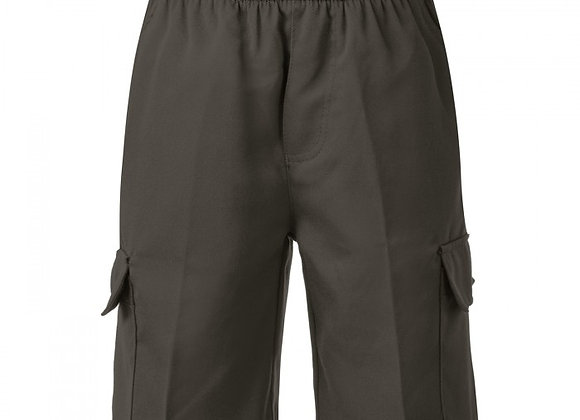 Boys Cargo Shorts - Grey