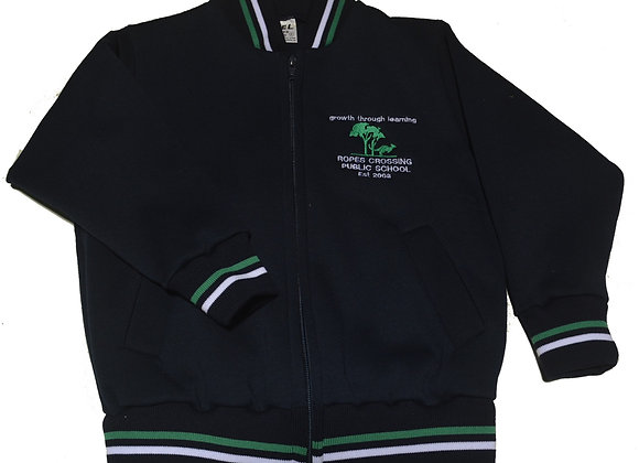 Bomber Jacket with Ropes Crossing PS logo