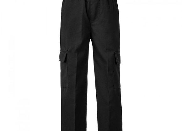 Boys Cargo Pants - Black
